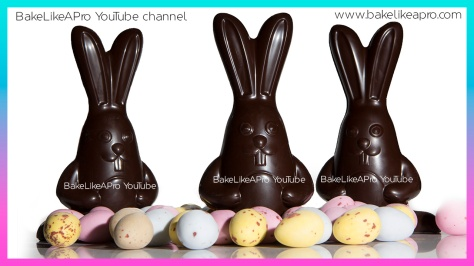 EASY Super Cut 3D Chocolate Easter Bunnies Tutorial - Professional Method