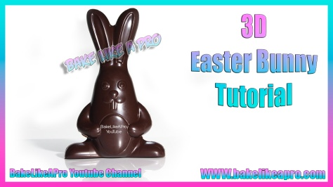EASY Super Cute 3D Chocolate Easter Bunnies Tutorial - Hand Painted