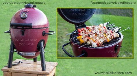 CHAR-GRILLER Akorn Jr Kamado Kooker Charcoal Grill Unbosing And Review